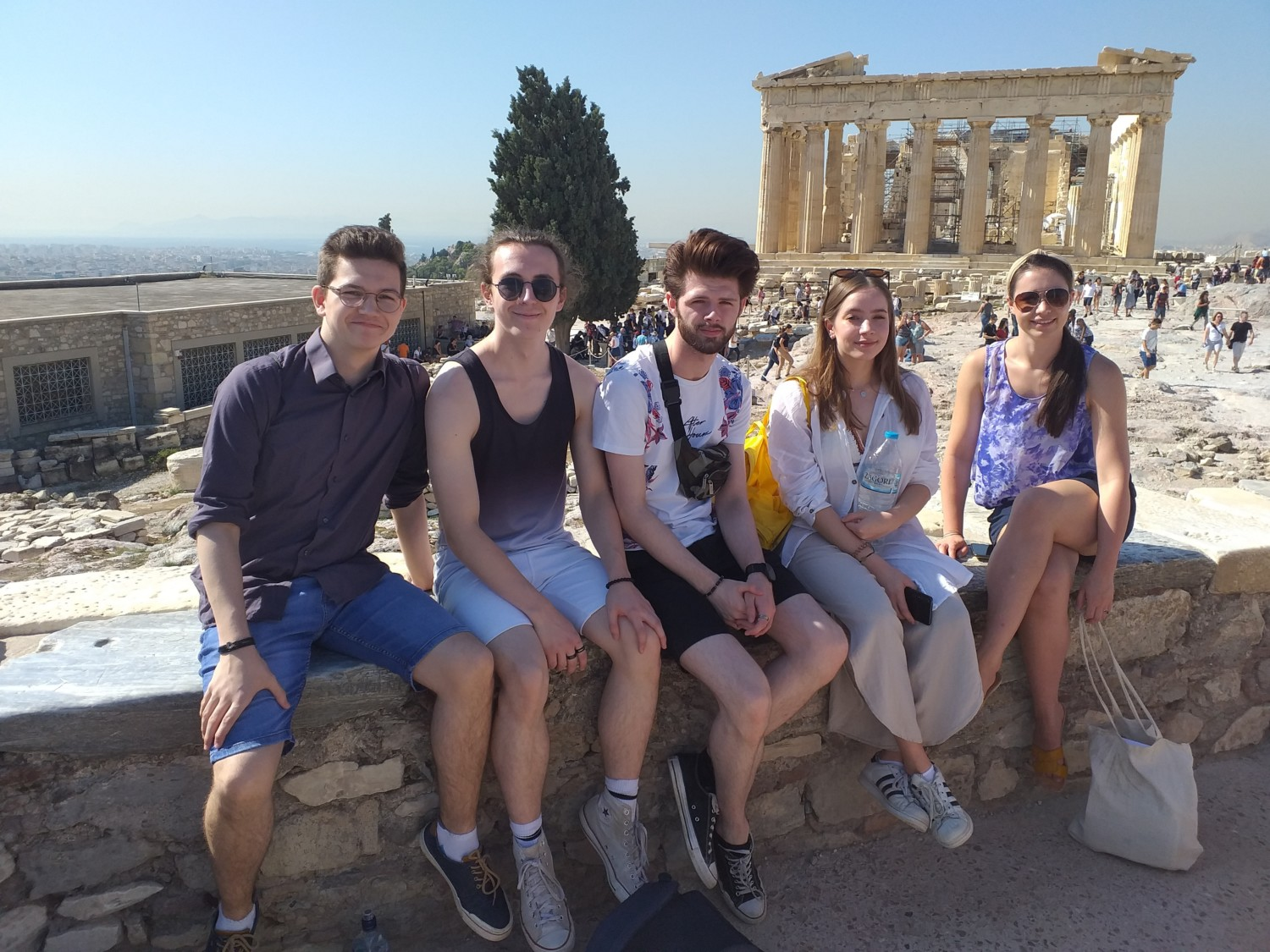 Performing Arts Students Athens Trip 2019 1