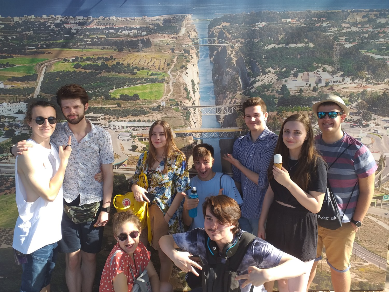 Performing Arts Students Athens Trip 2019 3