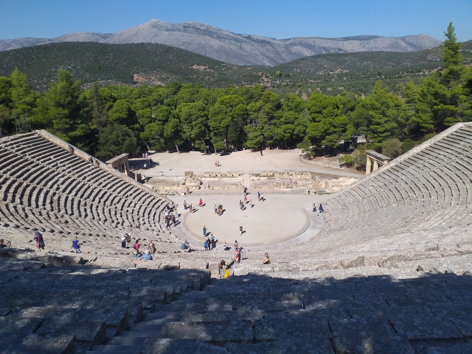 Performing Arts Students Athens Trip 2019 4