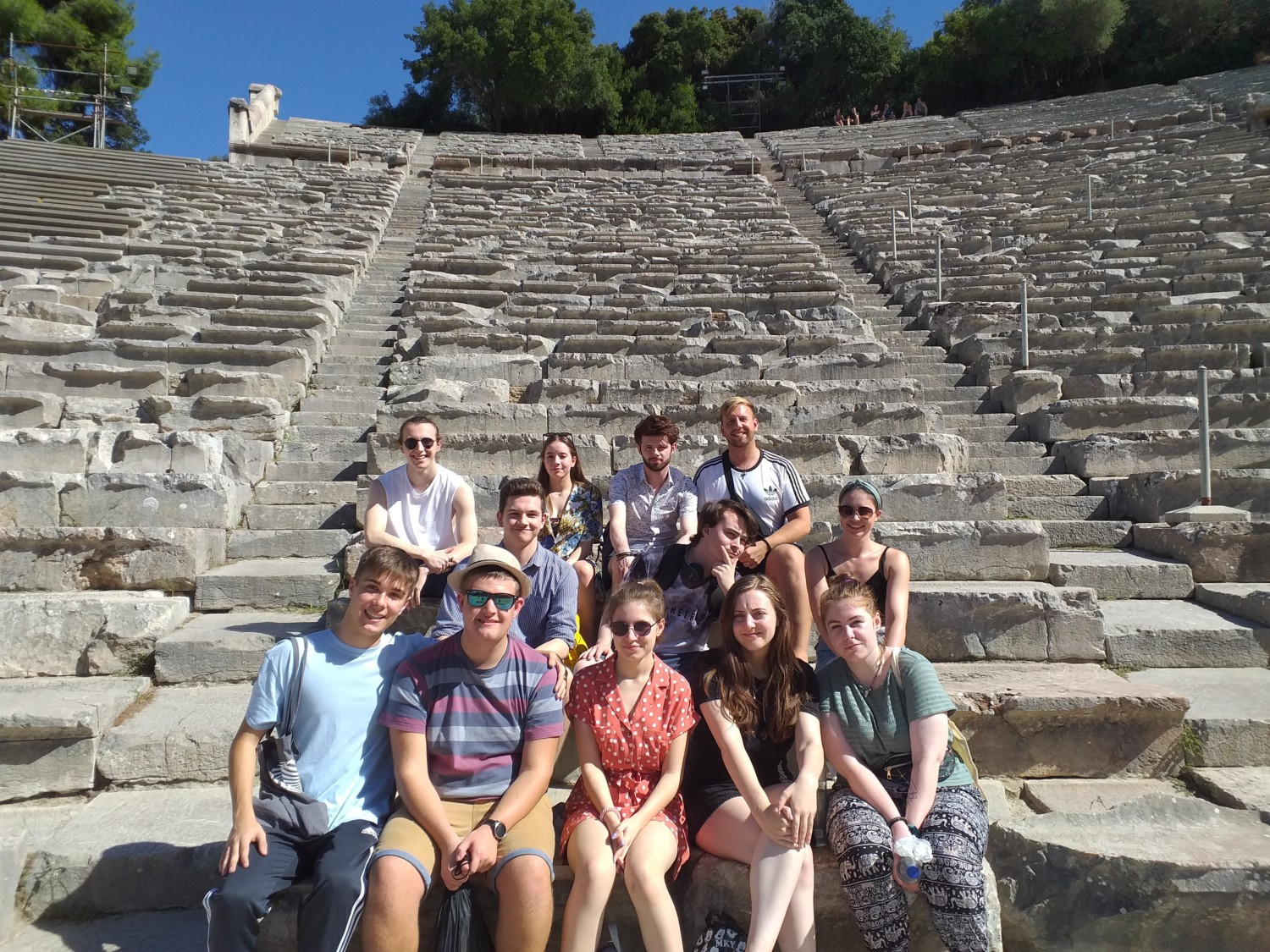 Performing Arts Students Athens Trip 2019