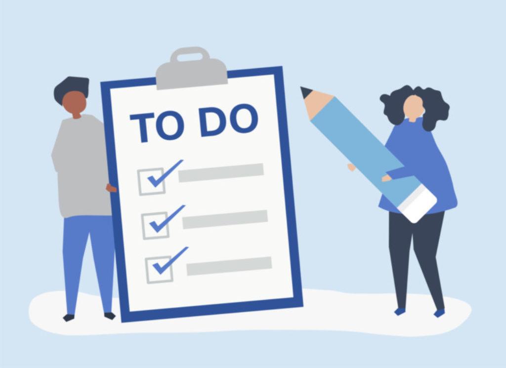 Check List 5 Ways Motivated