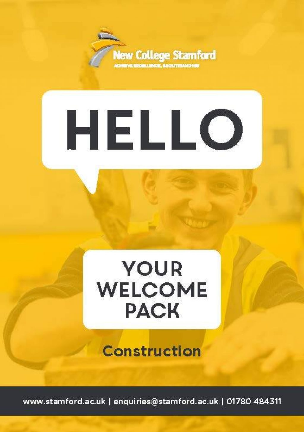 Welcome Event 2020 Construction Front Cover Page 1