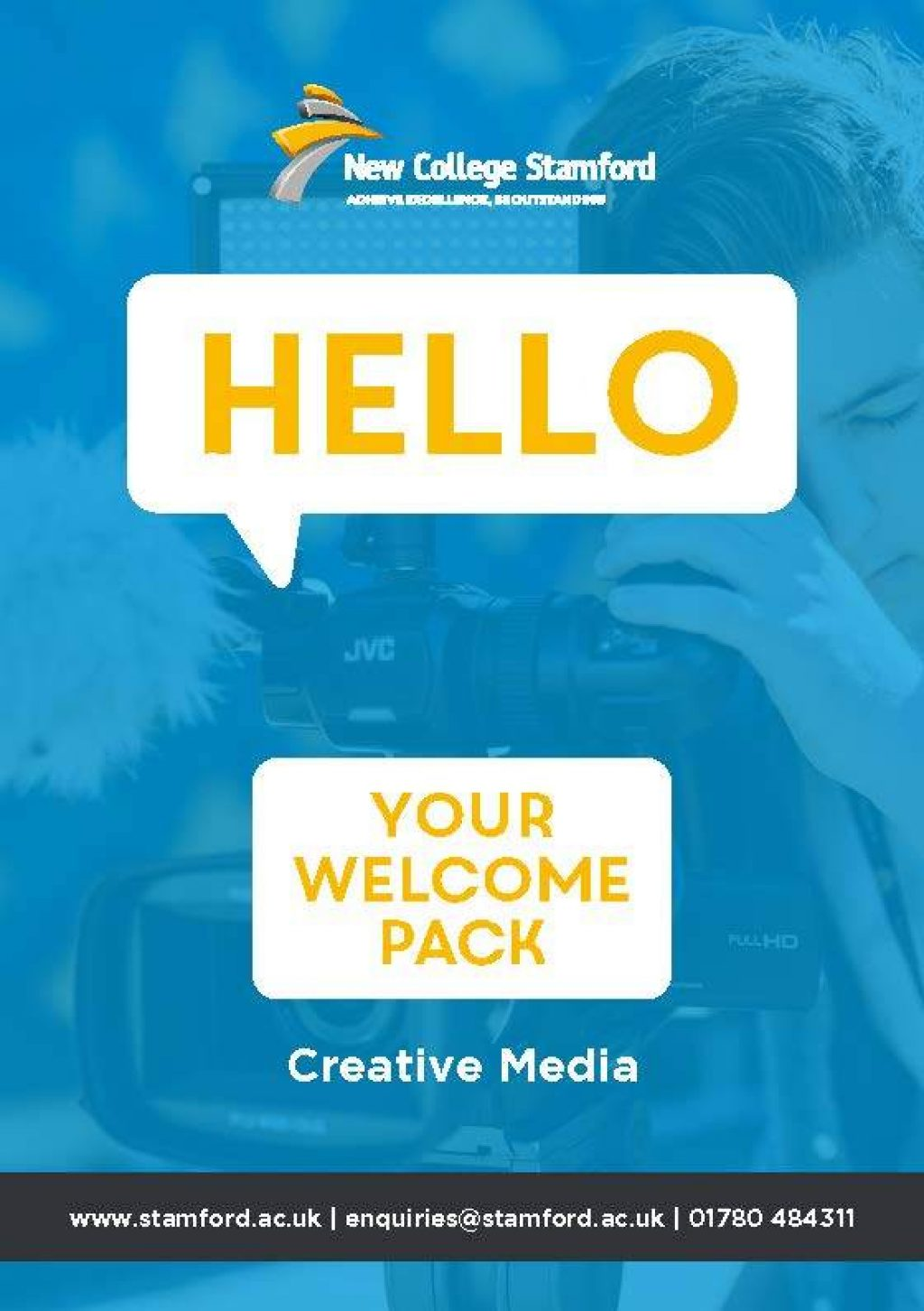 Welcome Event 2020 Creative Media Front Cover Page 1