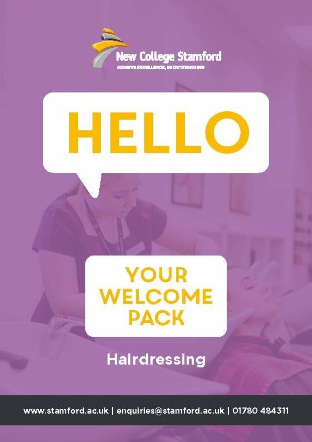 Welcome Event 2020 Hairdressing Front Cover
