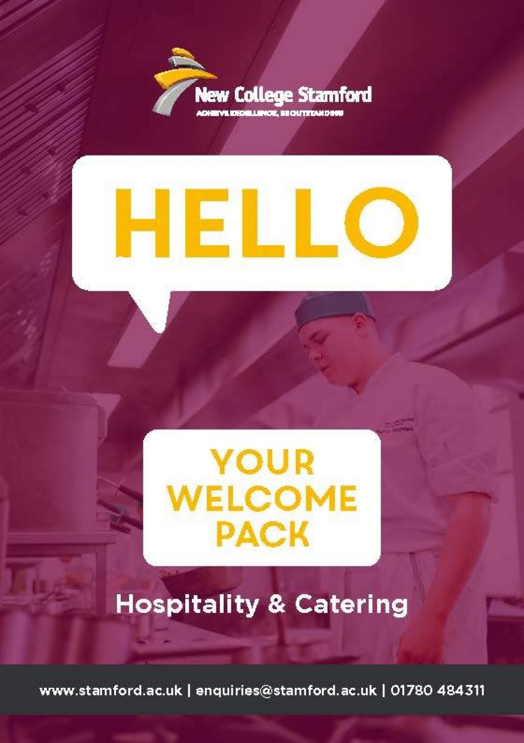 Welcome Event 2020 Hospitality Catering Front Cover Page 1
