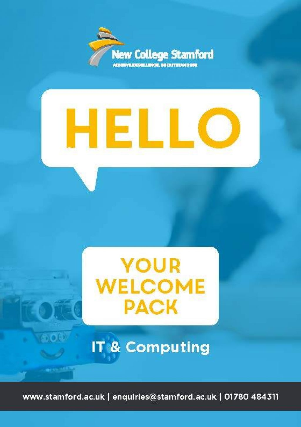 Welcome Event 2020 IT Computing Front Cover Page 1
