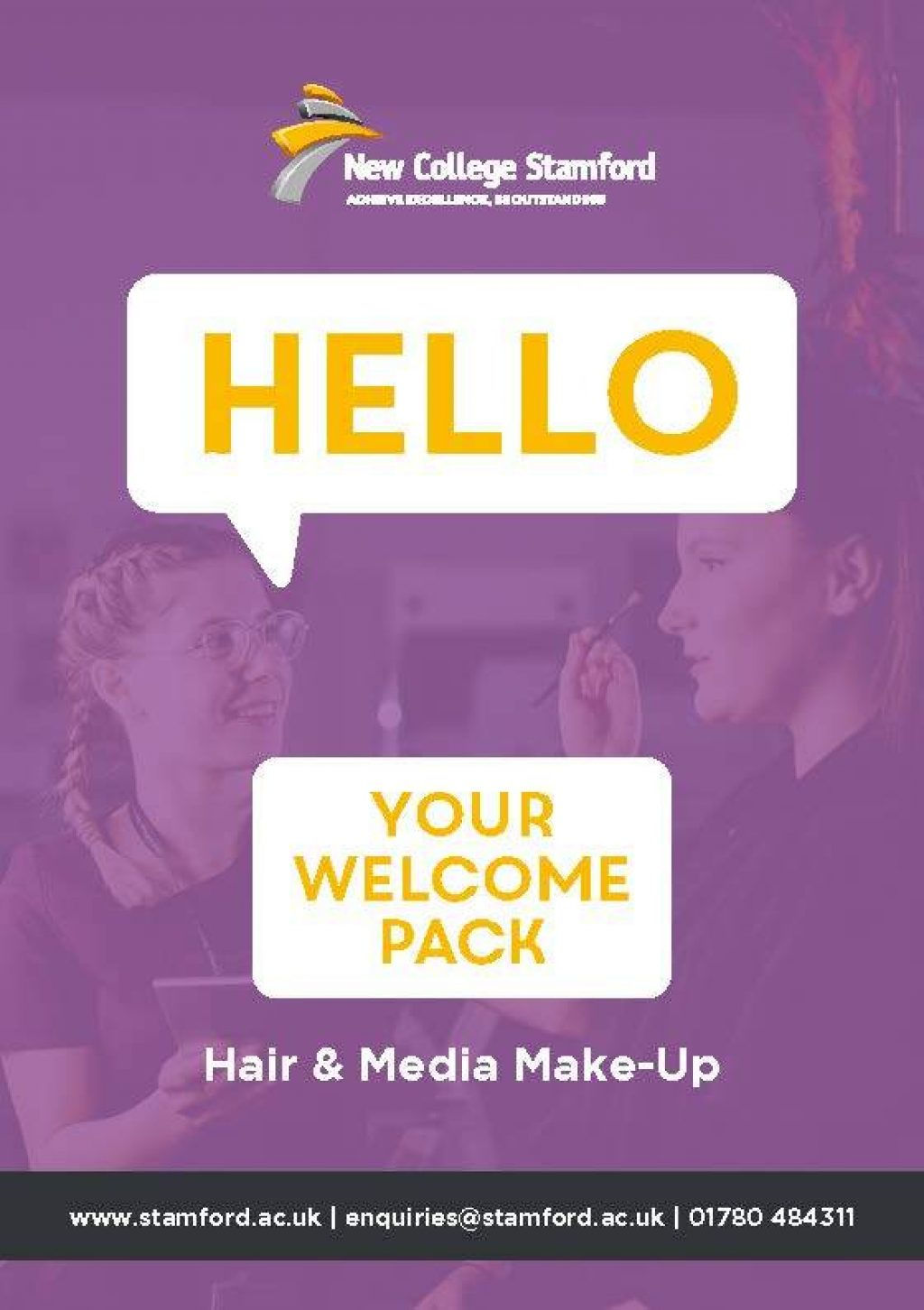 Welcome Event 2020 Media Make up Front Cover Page 1