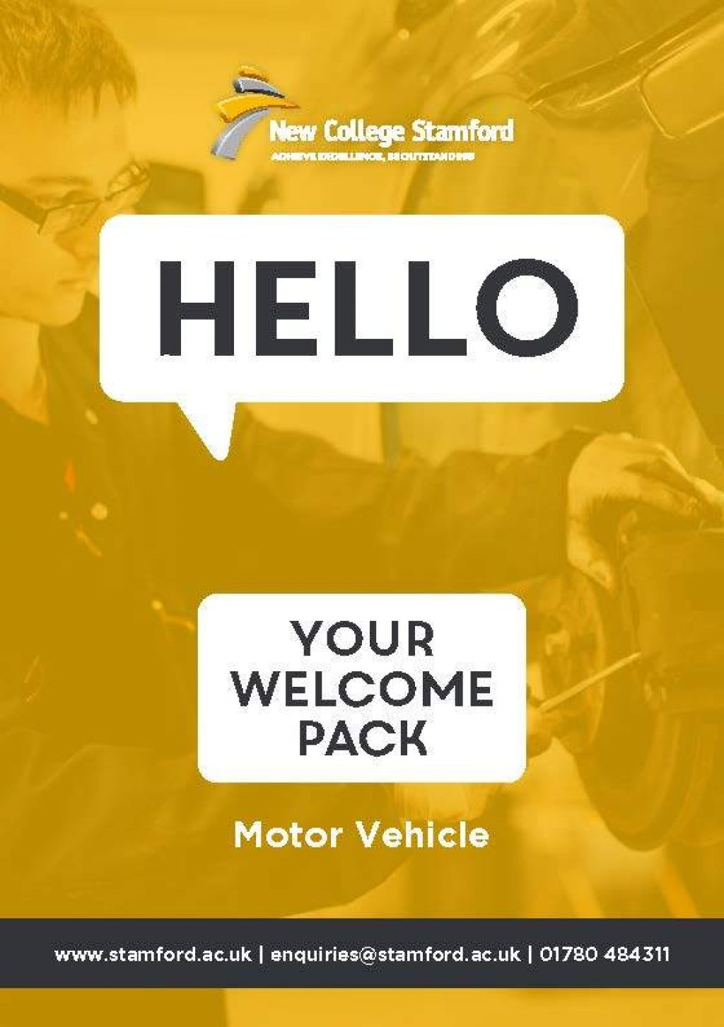 Welcome Event 2020 Motor Vehicle Front Cover Page 1
