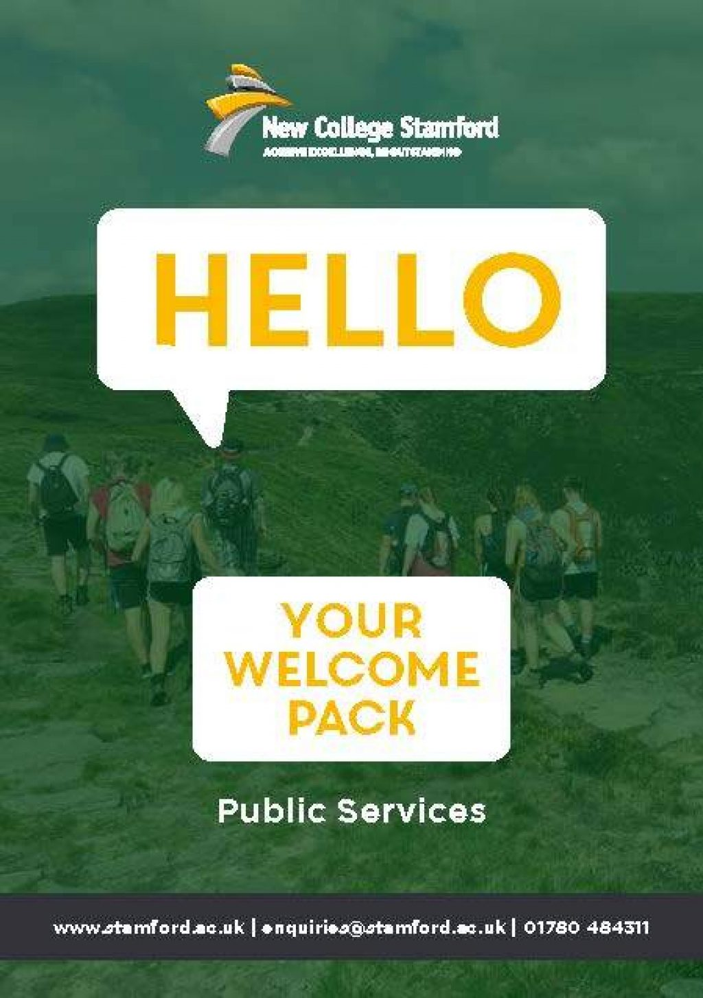 Welcome Event 2020 Public Services Front Cover Page 1