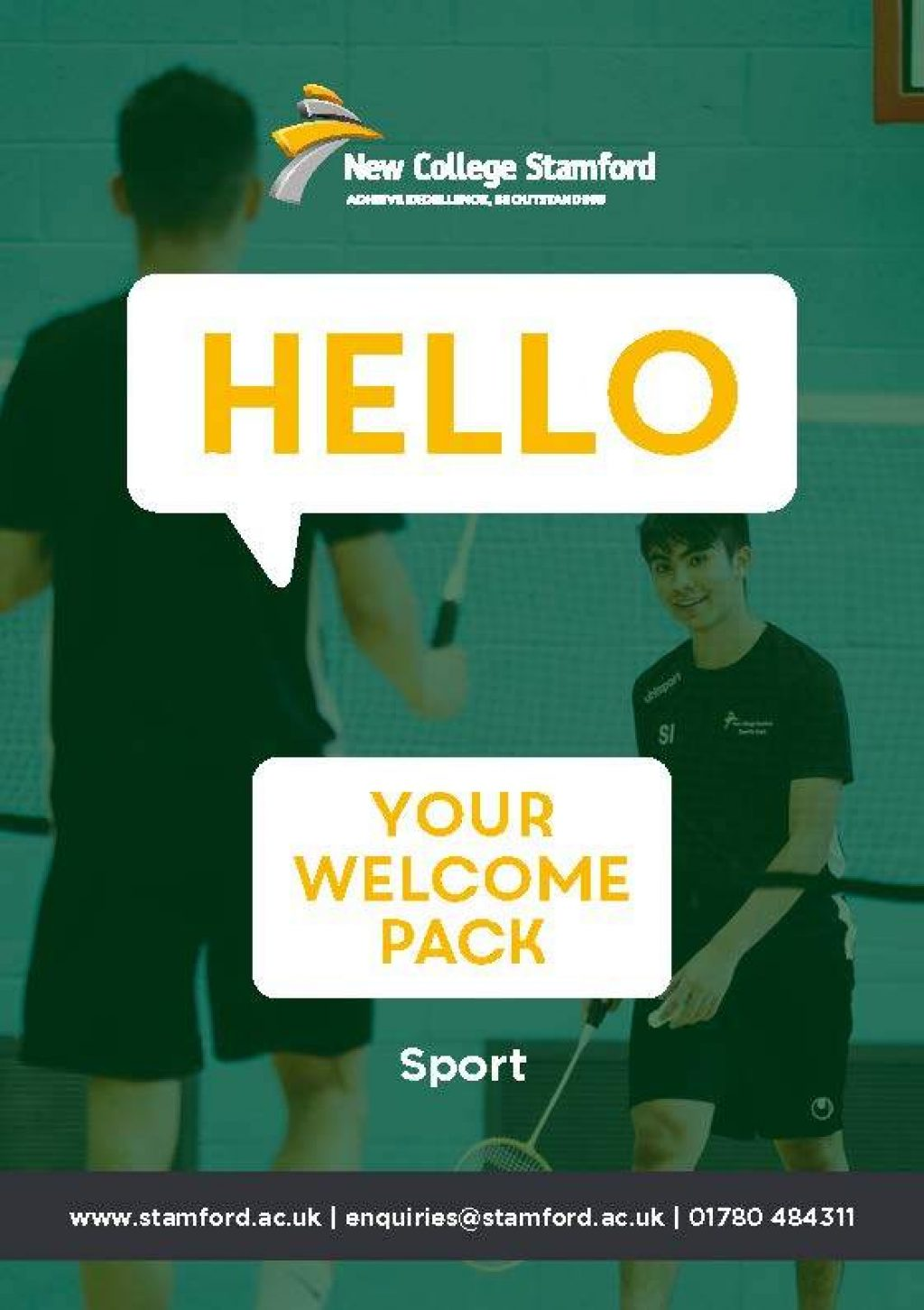 Welcome Event 2020 Sport Front Cover Page 1