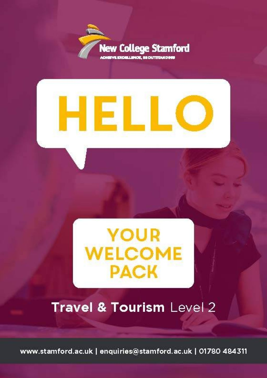 Welcome Event 2020 Travel Tourism Level 2 Front Cover Page 1