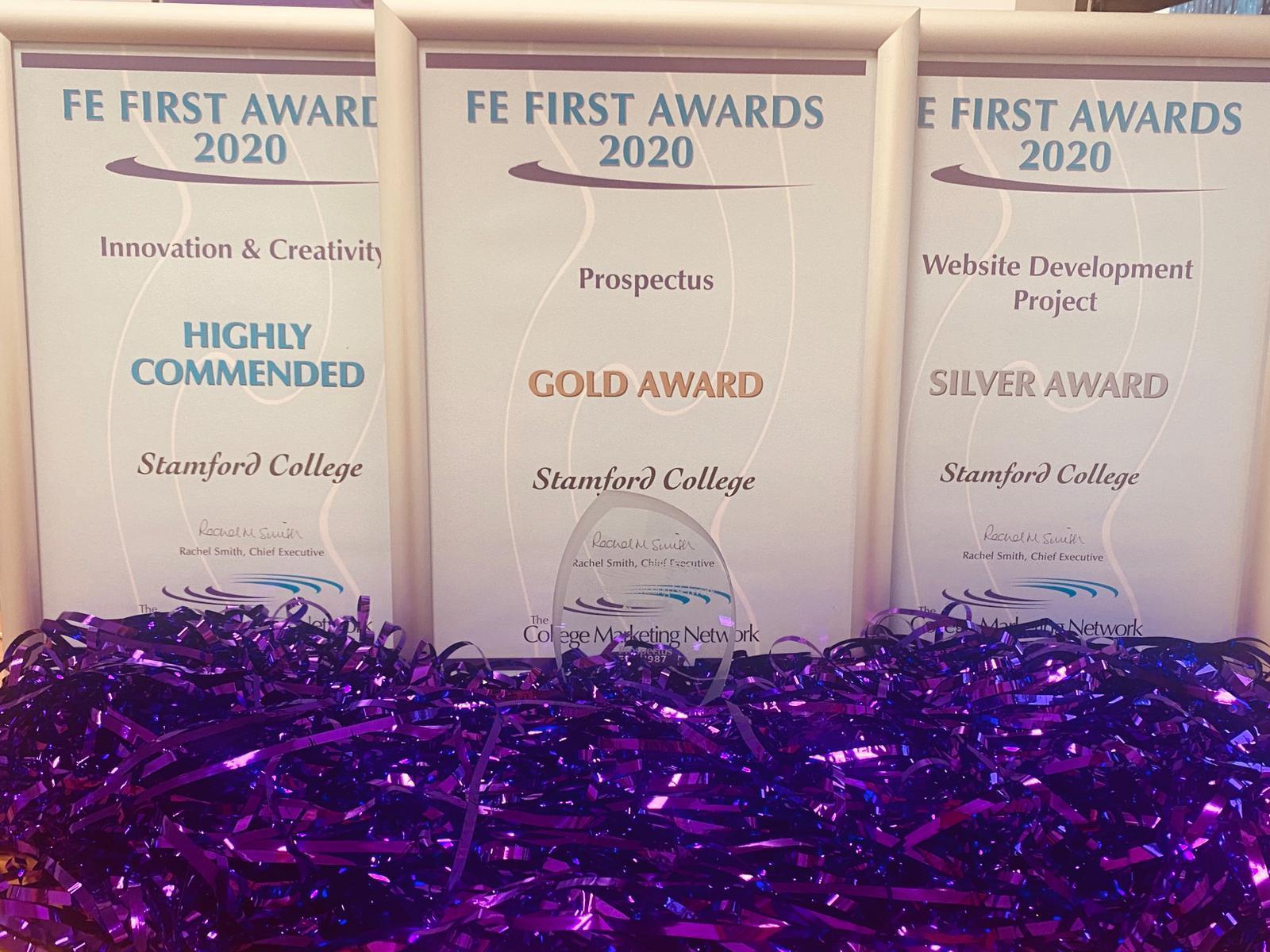 Stamford College Marketing Achievements