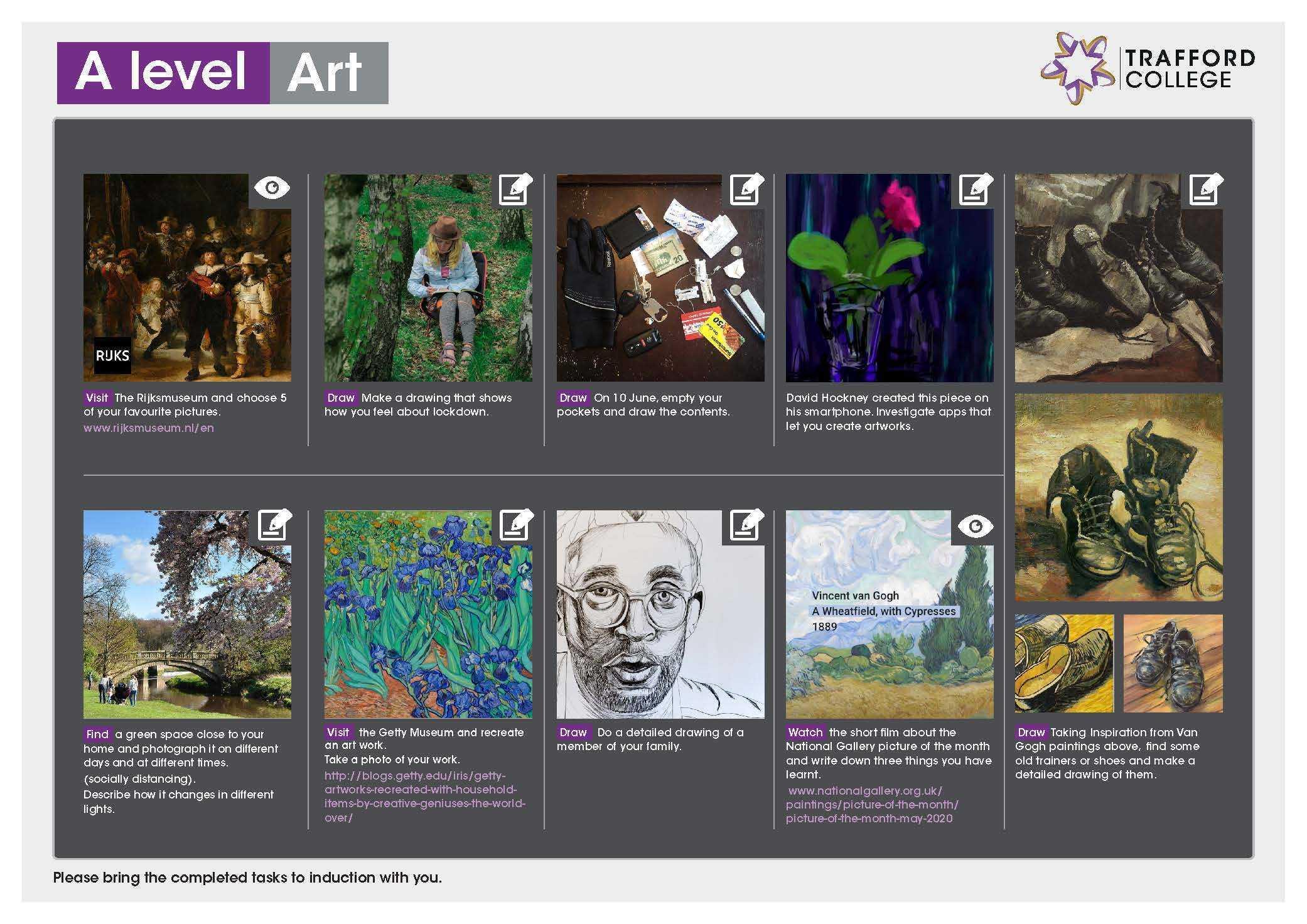 A Level Transition Leaflet ART May20 SE Edits
