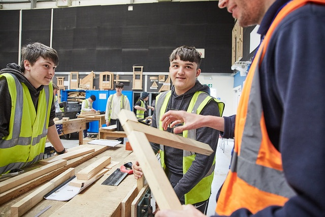Carpentry And Joinery Level 1 Wiltshire College University Centre
