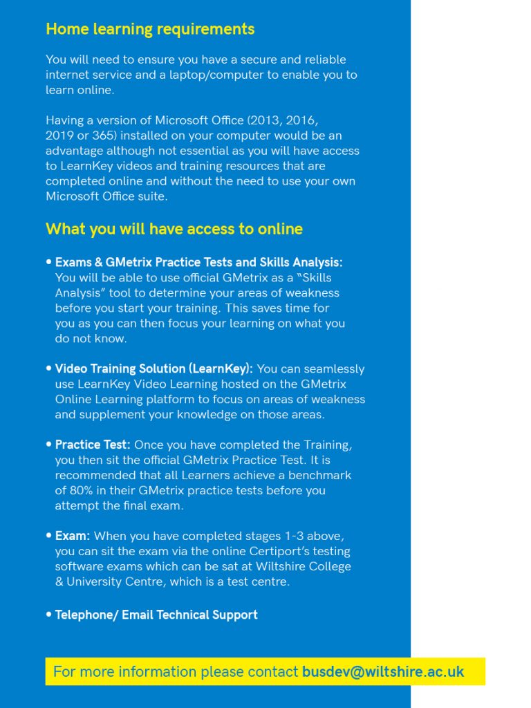 2010 Microsoft course flyer 1b