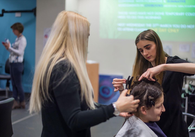 Advanced and Creative Hair professional