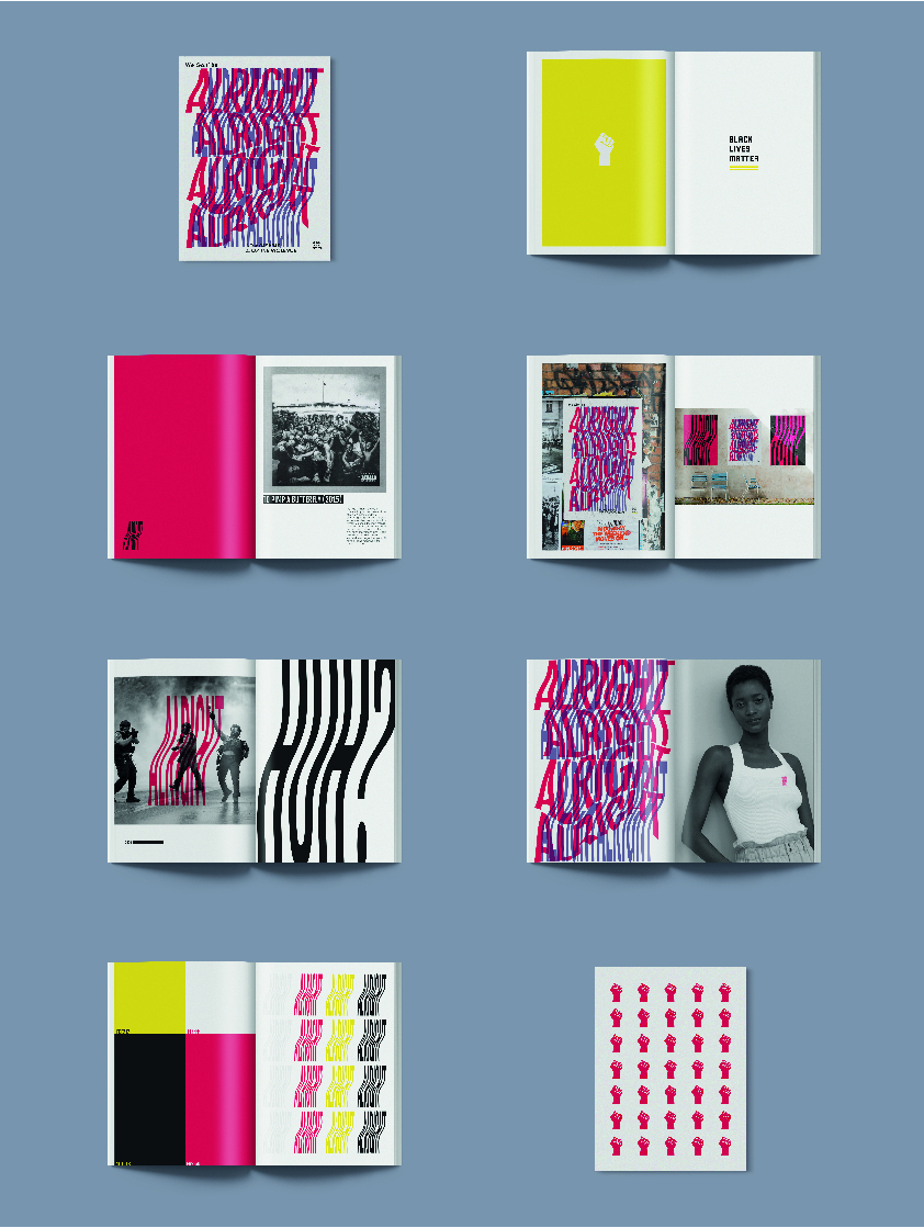 Alex Stephenson graphic design and communication work example
