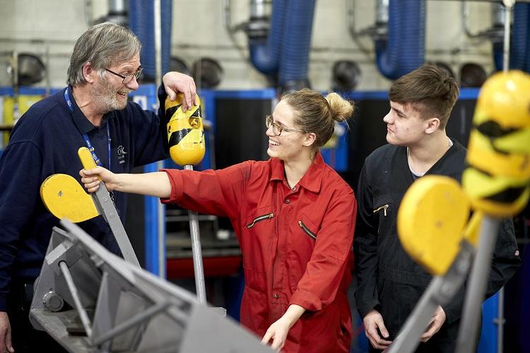 Apprenticeships Engineering workshop