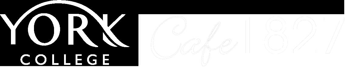 Cafe 1827 White Logo