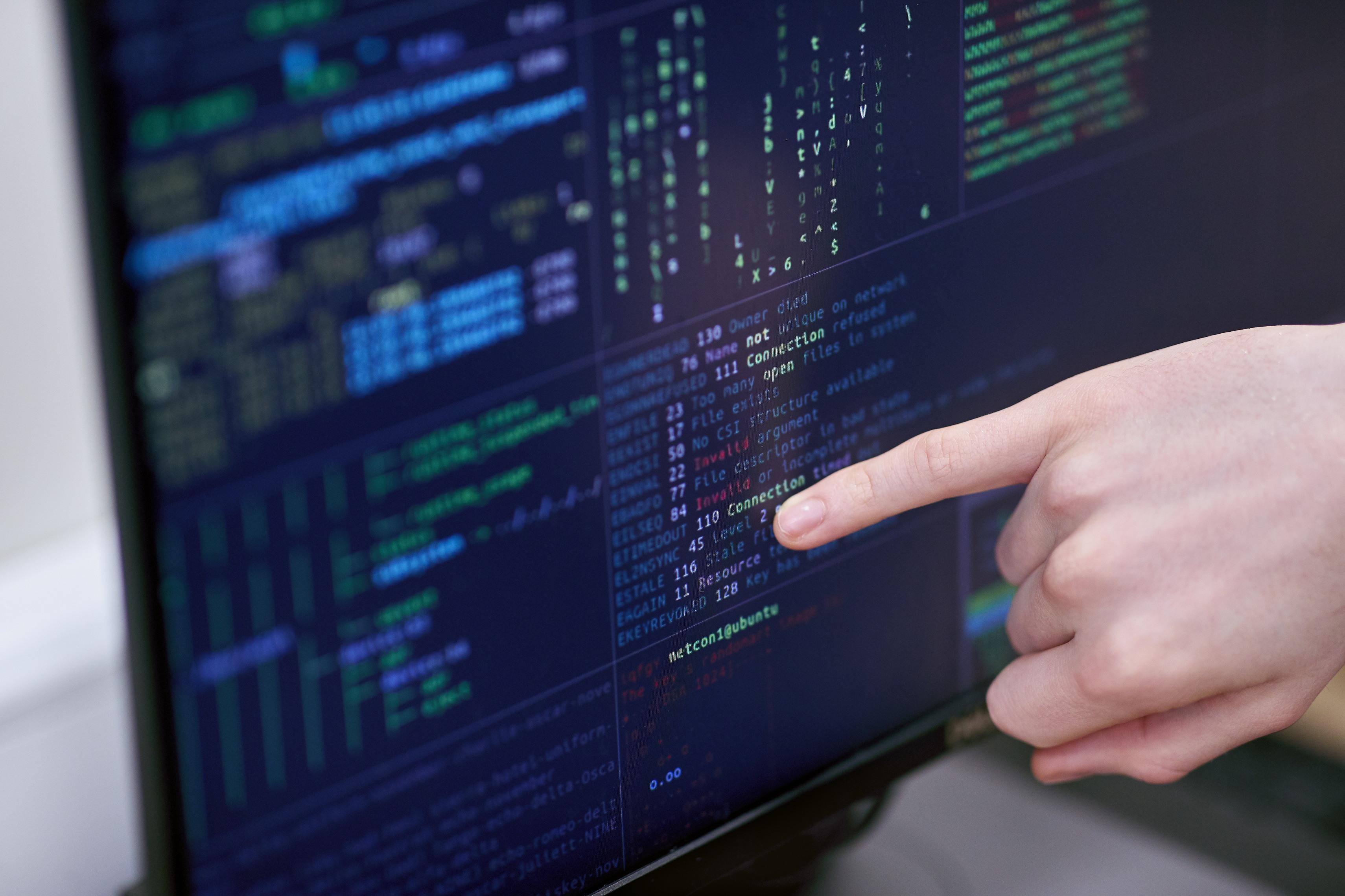 Cyber Security Desktop Screen
