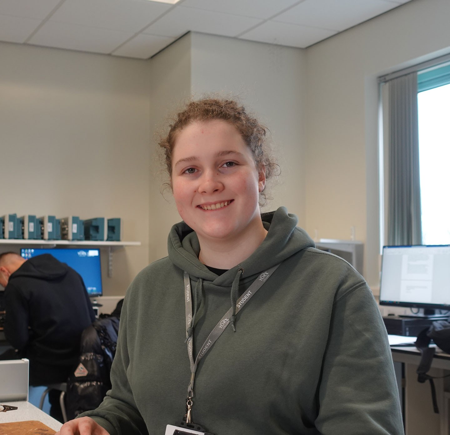 Isabel Advanced Manufacturing Extended Diploma student