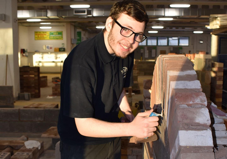 Jamie Bricklaying Level 2