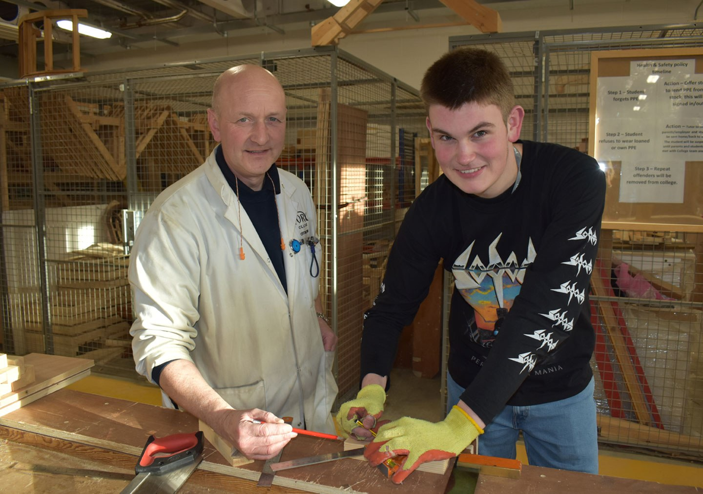Joshua Carpentry and Joinery Level 1