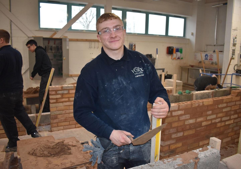 Luke Bricklaying Level 1
