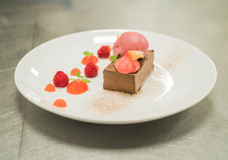 A dessert dish served in the restaurant