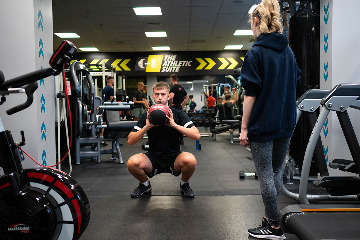 The Athletic Suite personal training students 32