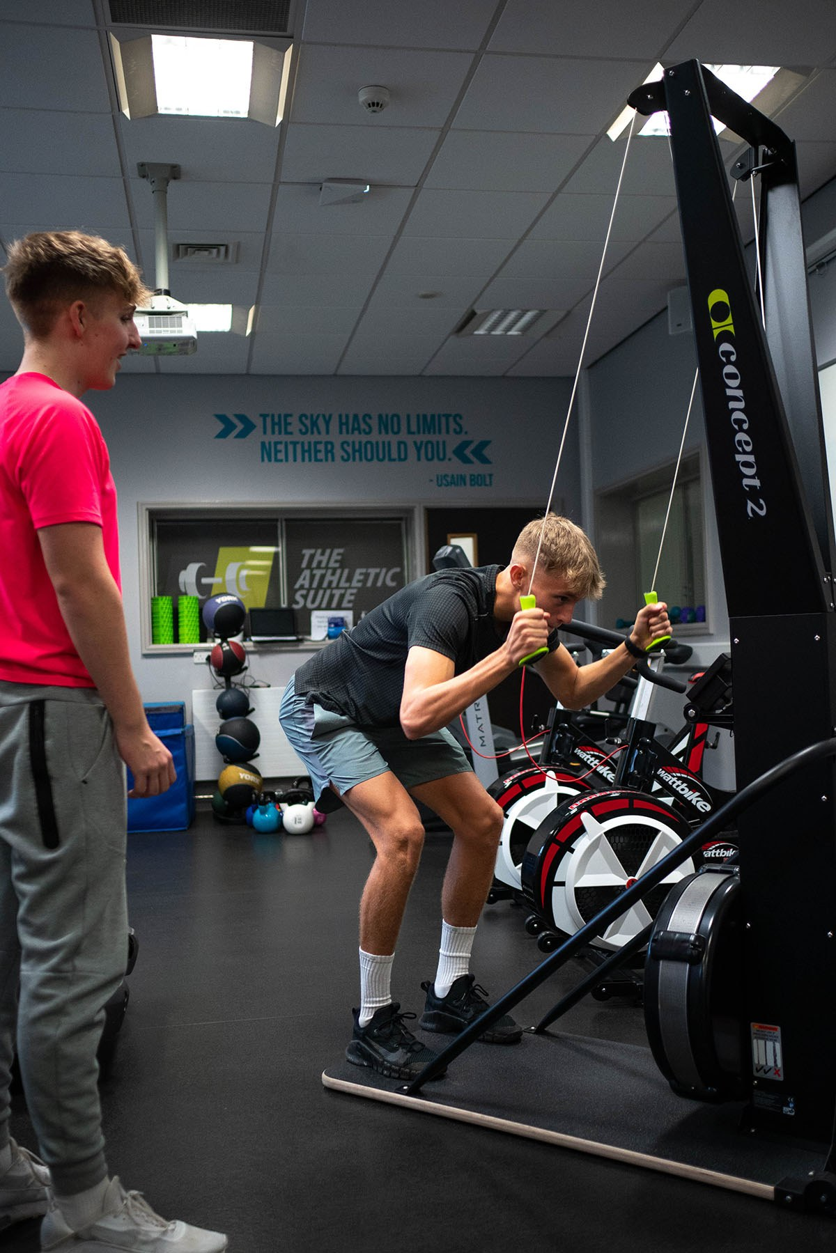 The Athletic Suite personal training students 49