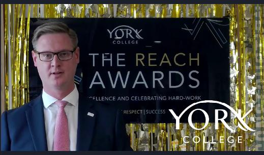 Video from the REACH Awards screenshot