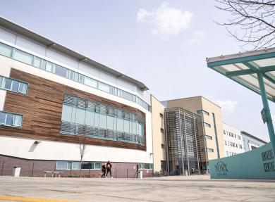 York College building photo