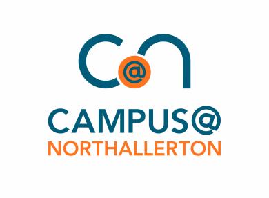 Campus logo blue orange