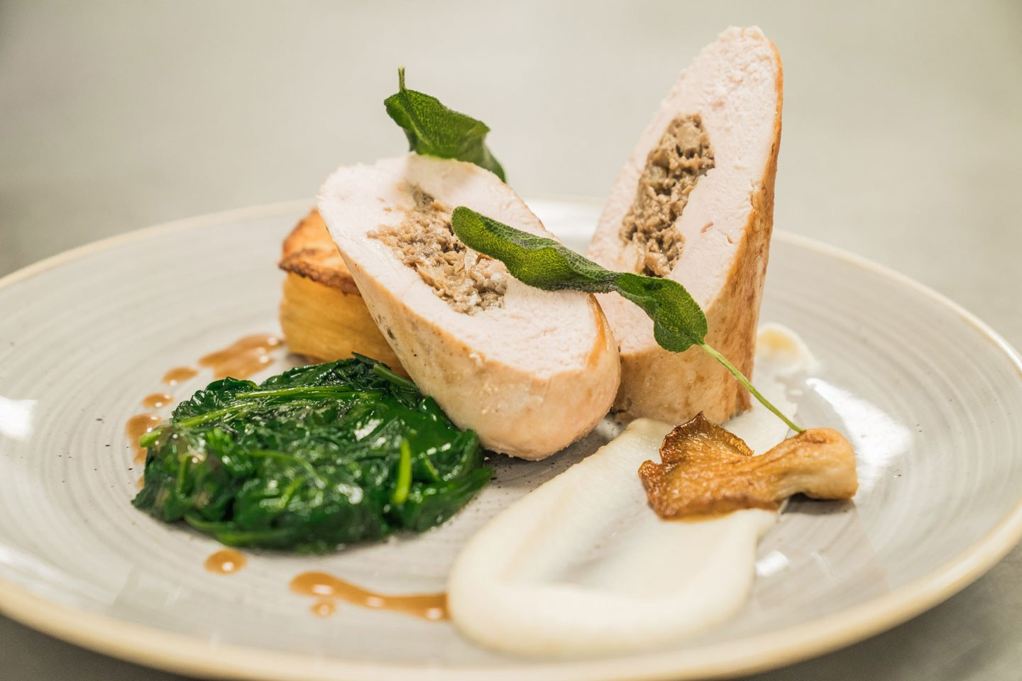 Chicken roulade Thumbnail
