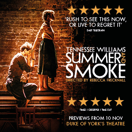 Summer and Smoke transfers to the Duke of York's Theatre from November