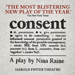 Consent to transfer to the Harold Pinter Theatre in May 2018