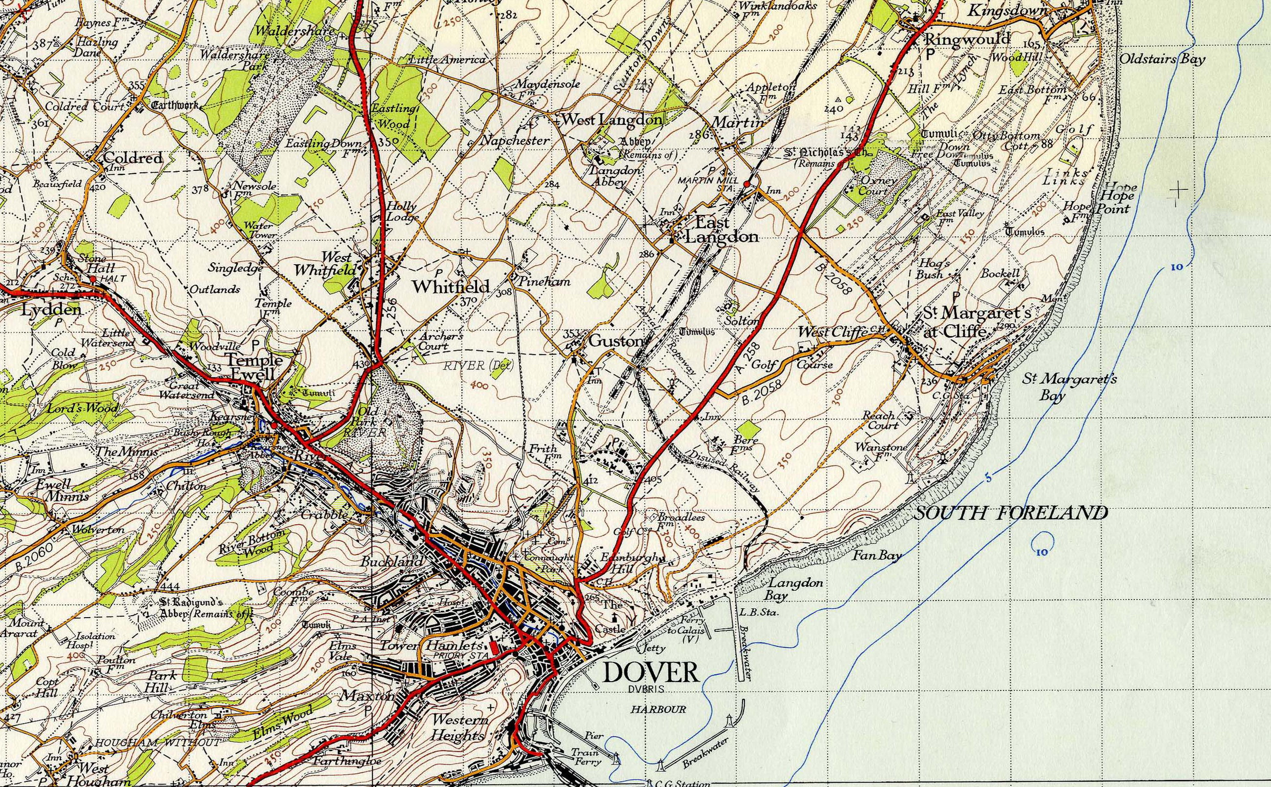Notable Or Interesting Maps The Charles Close Society - Old os maps