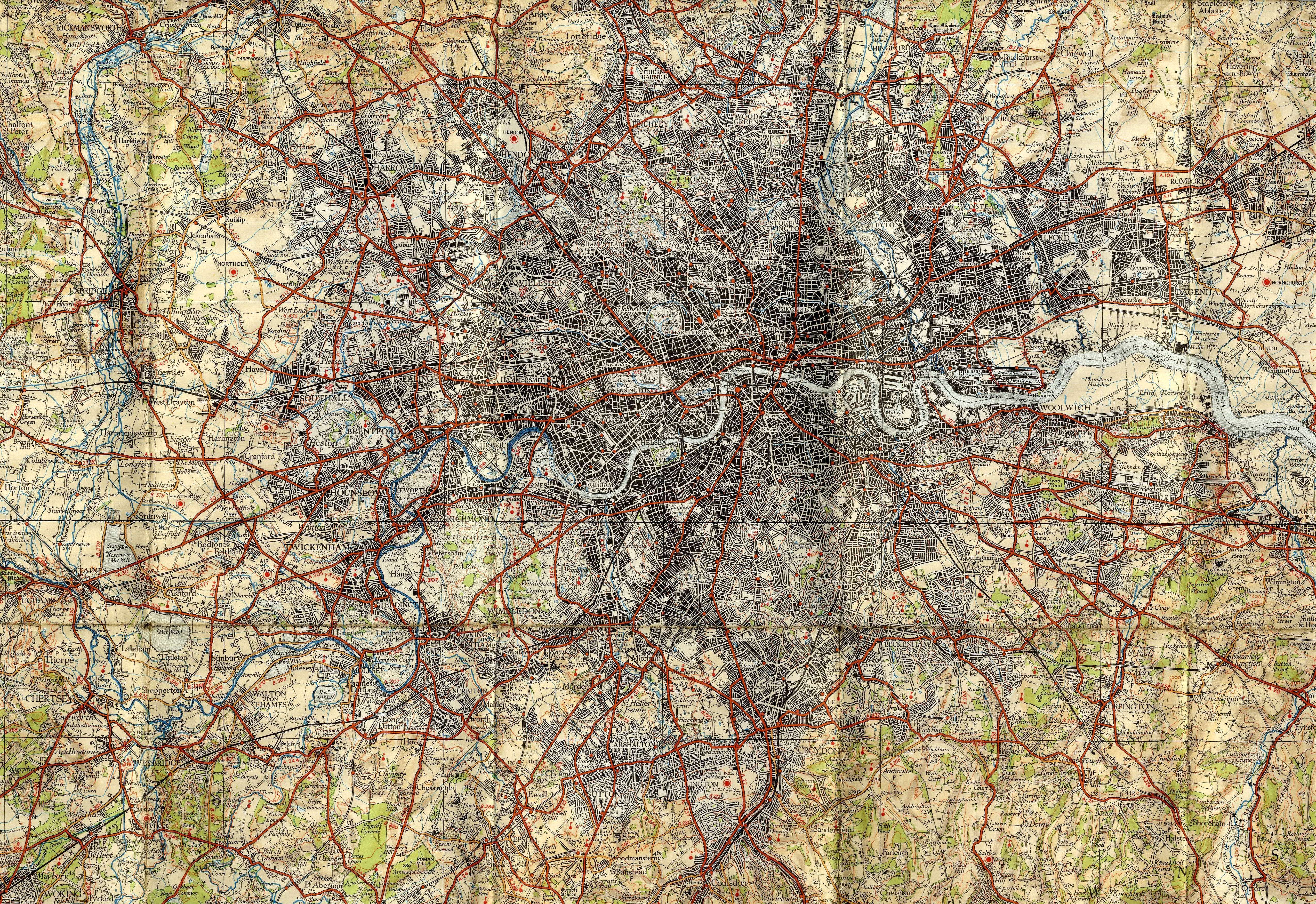 Half Inch To The Mile The Charles Close Society - Old os maps