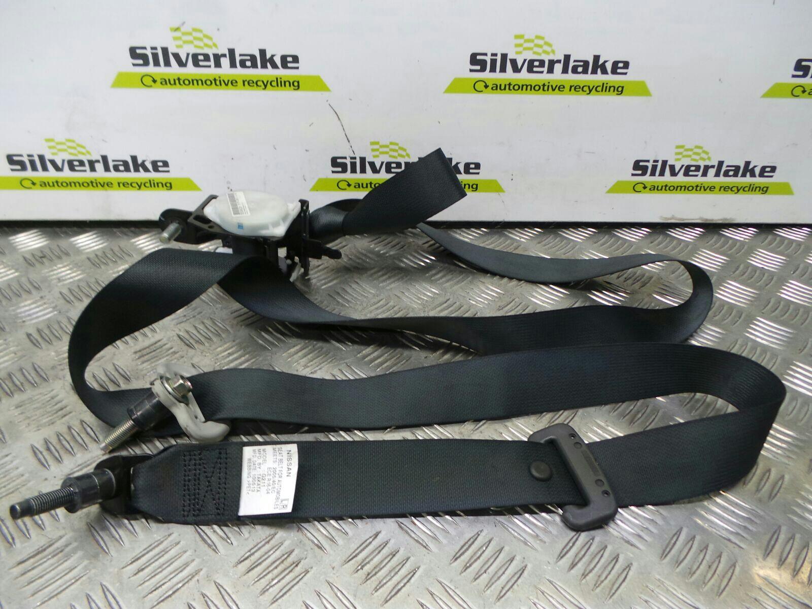 Nissan Navara 2010 To 2015 Tekna Double Cab Seat Belt Rear Reel LH