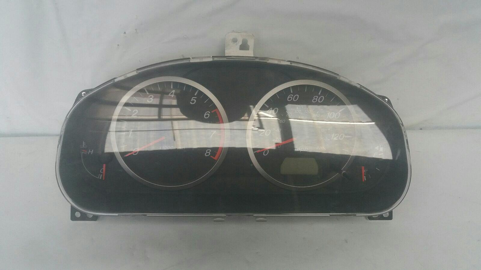 Mazda 2 2003 To 2007 Capella Instrument Cluster