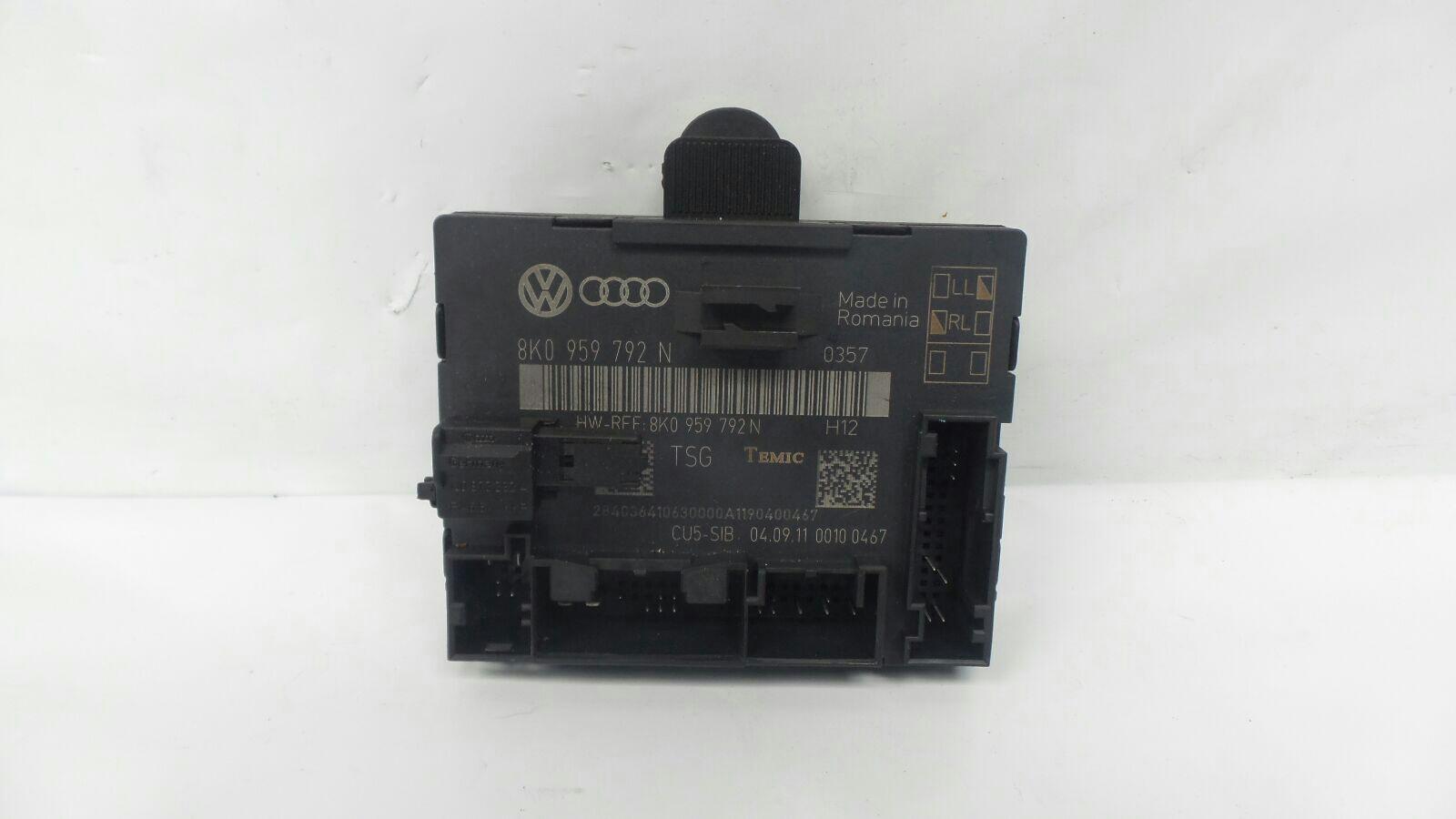 Audi A4 2008 To 2011 SE ECU Door CDL