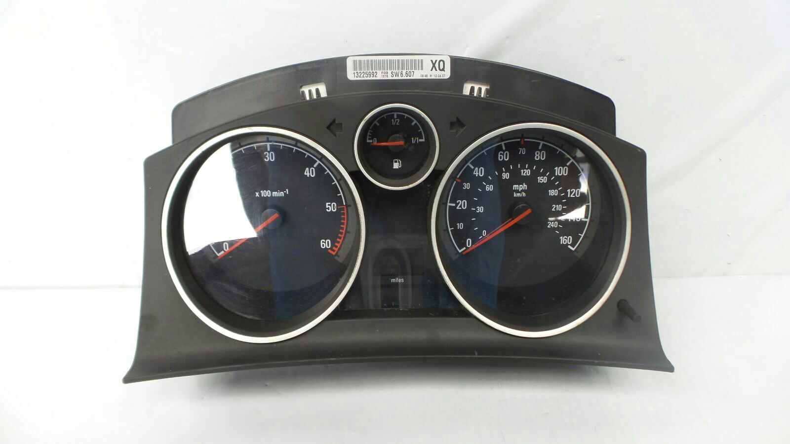 Vauxhall Astra 2004 To 2006 Design Instrument Cluster