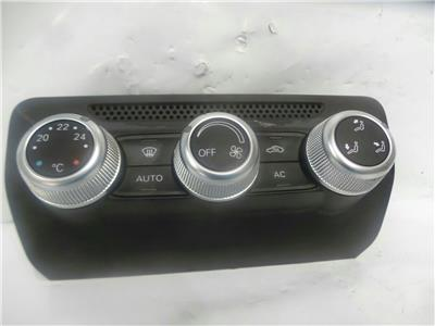 2012 Audi A1 2010 To 2014 Heater Control Assembly 8X0820043B