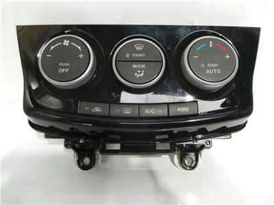 2013 Mazda 5 2011 On Gloss Black Heater Controls Air Con AMB Heated Front Screen