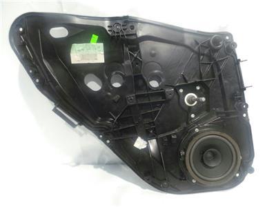 2012 Ford Fiesta MK7 2009-12 5 Door Hatchback Passengers Rear Manual Winder LH