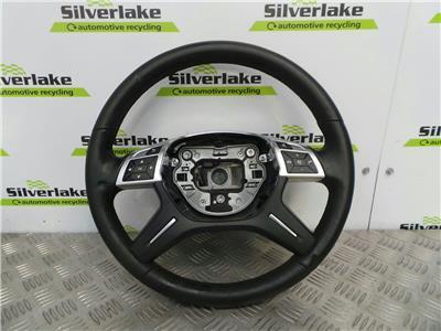 2014 Mercedes ML W166 2012 On ML250 SE 4 Spoke Paddle Shift Steering Wheel