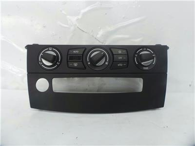 2008 BMW 5 Series 2007 To 2010 Heater Control Assembly 9177712