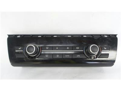 2011 BMW 5 Series F10 2010 To 2013 Heater Control Assembly 9249708