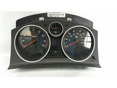 2010 Vauxhall Astra H MK5 2005 To 2011 Manual Petrol Speedo Head